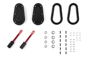 Aerocatch Hood Pins Non-Locking Kit (Part Number: )
