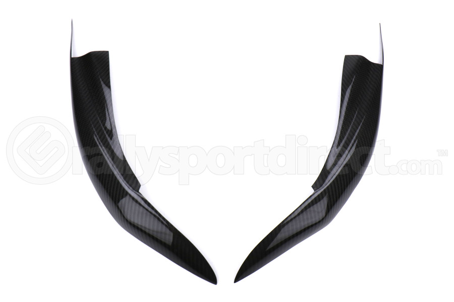 OLM S-line Carbon Fiber Headlight Eyelids - Subaru WRX / STI 2015+