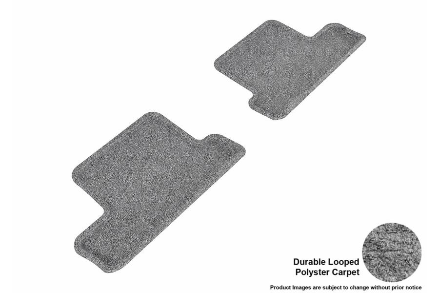 3D MAXpider Rear Classic Floor Mats Grey - Scion FR-S 2013-2016 / Subaru BRZ 2013+ / Toyota 86 2017+