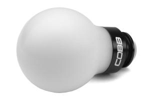 COBB Tuning Delrin Shift Knob White/Black 5MT - Subaru 5MT Models (inc. 2002-2014 WRX)