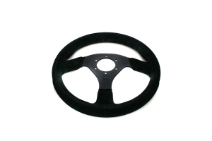 Sparco Steering Wheel 383 Black Suede ( Part Number:SPR2 015R383PSN)