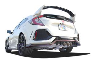Greddy Supreme SP Catback Exhaust HG Polished - Honda Civic Type R 2017+