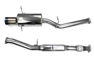 Invidia G200 Cat Back Exhaust Titanium Tip (Part Number: )