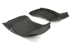 Husky Liners Floorliners Black Front and Back - Subaru Models (inc. 2015+ WRX/STI / 2013+ Crosstrek)