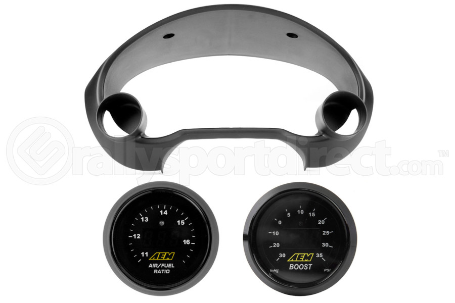 Air Fuel Ratio and Boost Gauge Cluster (Part Number:02-07GAU)