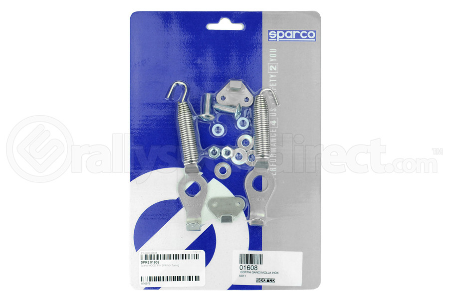 Sparco Spring Latch Quick Release Set (Part Number:01608)