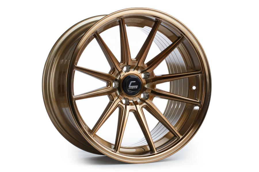 Cosmis Racing Wheels R1 18x8.5 +35 5x114.3 Hyper Bronze - Universal