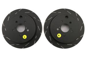 EBC Brakes USR Series Sport Slotted Rear Brake Rotors - Subaru Models (inc. 2013+ BRZ / 2008-2014 WRX)