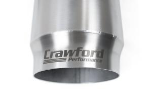 Crawford GK2 Side Kick Cat Back Resonated Exhaust - Subaru WRX / STI Hatchback 2008-2014