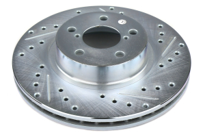 Stoptech C-Tek Sport Drilled and Slotted Front Rotor Pair - Subaru Models (inc. 1998-2001 Impreza 2.5RS)