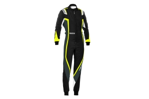 Sparco SUIT KERB LADY BLK/YEL - Universal