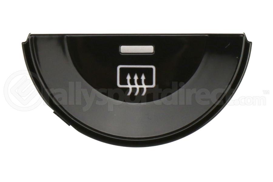 Subaru Piano Black Single Rear Defrost Climate Zone Filler - Subaru Models (inc. 2015-2017 Crosstrek)