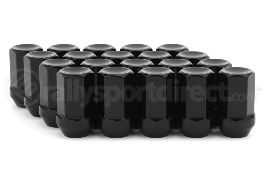 Gorilla Aluminum Closed End Black Lug Nuts 12x1.25 (Part Number:44128BK-20)