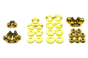 Dress Up Bolts (Full Engine Bay) - Ford Fiesta 2013 - 2017
