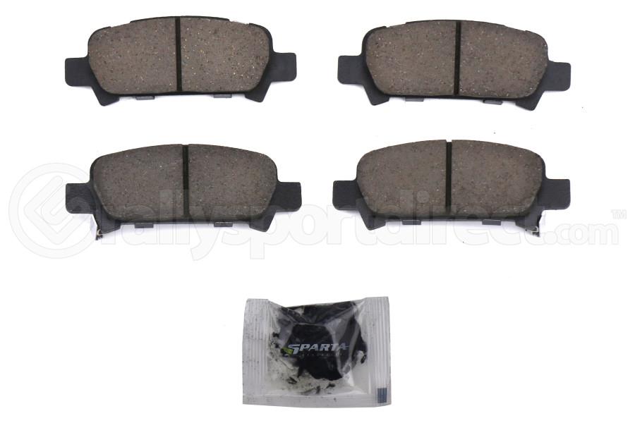 Sparta Evolution SPP 1.0 Rear Brake Pad Set - Subaru Models (inc. 2002-2005 WRX / 2005-2009 Legacy GT)