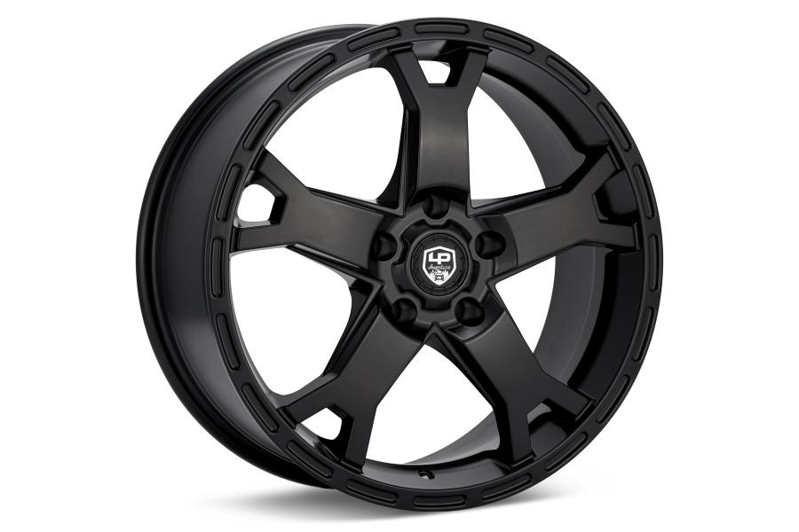 LP Aventure LP2 Wheel 18X8 +20 5x114.3 Black - Universal