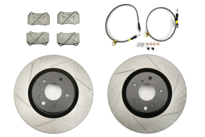 Stoptech Sport Kit w/ Brembo Brakes Front Slotted ( Part Number:STP 977.42002F)