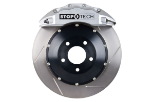 Stoptech ST-60 Big Brake Kit Front 355mm Silver Slotted Rotors (Part Number: 83.838.6700.61)