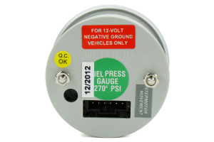 ProSport Fuel Pressure Electrical Green / White 52mm - Universal