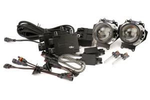 Morimoto Retro-Quik H1 HID Low Beam Headlight Kit (Part Number: )