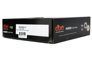DBA 4000 Series T-Slot Slotted Rear Rotor Pair ( Part Number:DBA 42663S-10-GRP)