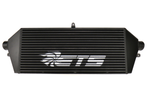 ETS Front Mount Intercooler Core Black w/ White ETS Stencil - Subaru STI 2008-2014