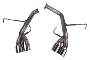 Remark Axleback Exhaust Stainless Double Wall Tip SPT Version - Subaru WRX / STI 2015+