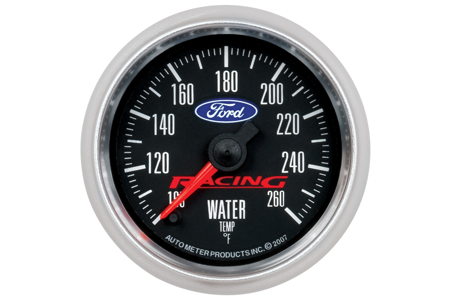 Autometer Ford Racing Water Temperature Gauge Electrical 52mm - Universal