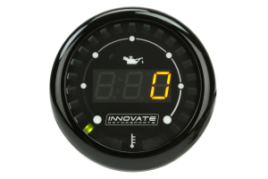 Innovate Motorsports MTX Digital Oil Pressure/Temp Gauge ( Part Number: 3913)