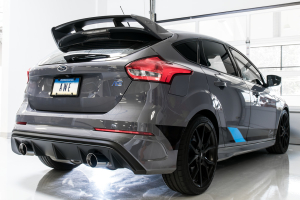 AWE Track Edition Cat Back Exhaust Chrome Tips - Ford Focus RS 2016+