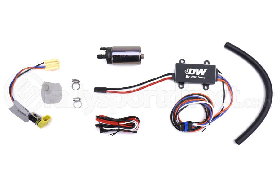 DeatschWerks DW440 440lph Brushless Fuel Pump w/ Dual Speed Controller - Universal