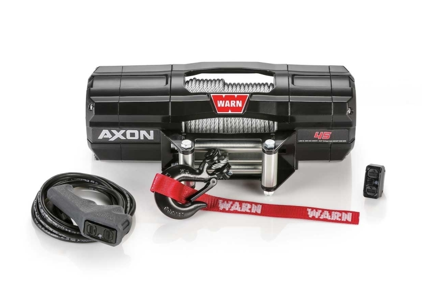 Warn Industries AXON 45 Wire Rope Winch - Universal