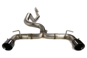 AWE Track Edition Cat Back Exhaust Diamond Black Tips - Ford Focus RS 2016+
