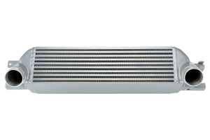 Mishimoto Front Mount Intercooler Silver - Ford Mustang EcoBoost 2015+