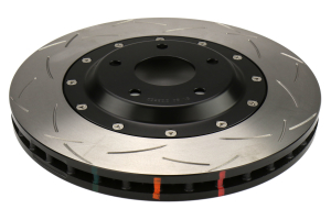 DBA T3 Clubspec 5000 Series Rotor Uni-Directional Slotted Front - Chevrolet Corvette Z06 2006-2012 / Cadilllac XLR 2004-2006