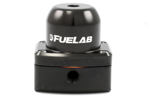 Fuelab Black EFI Adjustable Fuel Pressure Regulator In-Line (Part Number: 52501-1)