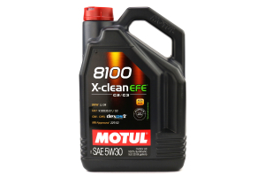 Motul 8100 X-Clean EFE 5W30 Engine Oil 5L (Part Number: 107206)