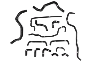 Samco Ancillary Hose Kit Black - Subaru STI 2008-2014