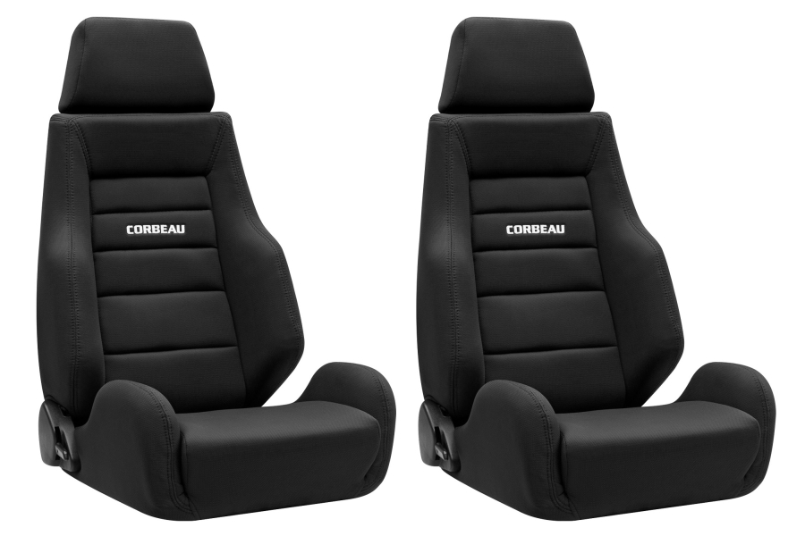 Corbeau GTS II Reclining Seats Pair (Part Number:GTSII-SEAT)