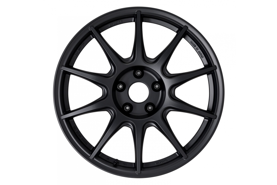 Work Wheels M.C.O. Type CS 18x8.5 +38 5x100 Matte Black - Universal