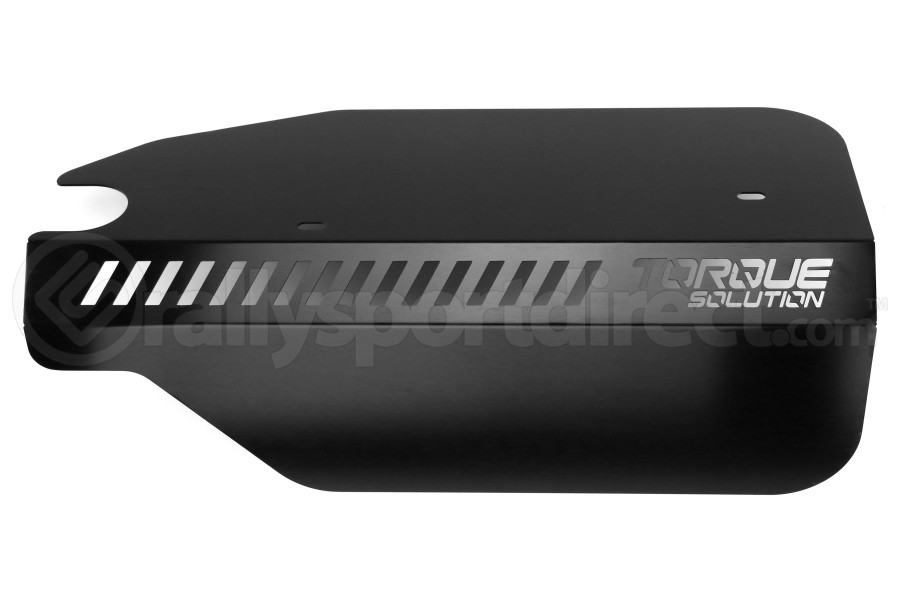 Torque Solution Engine Pulley Cover Black - Subaru WRX 2015 - 2020