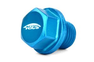 KICS Magnetic Oil Drain Plug Bolt M14X1.50 Blue (Part Number: )
