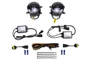 OLM Retical Style LED Fog Lights - Subaru Models (inc. 2015+ WRX / STI / 2013+ BRZ)