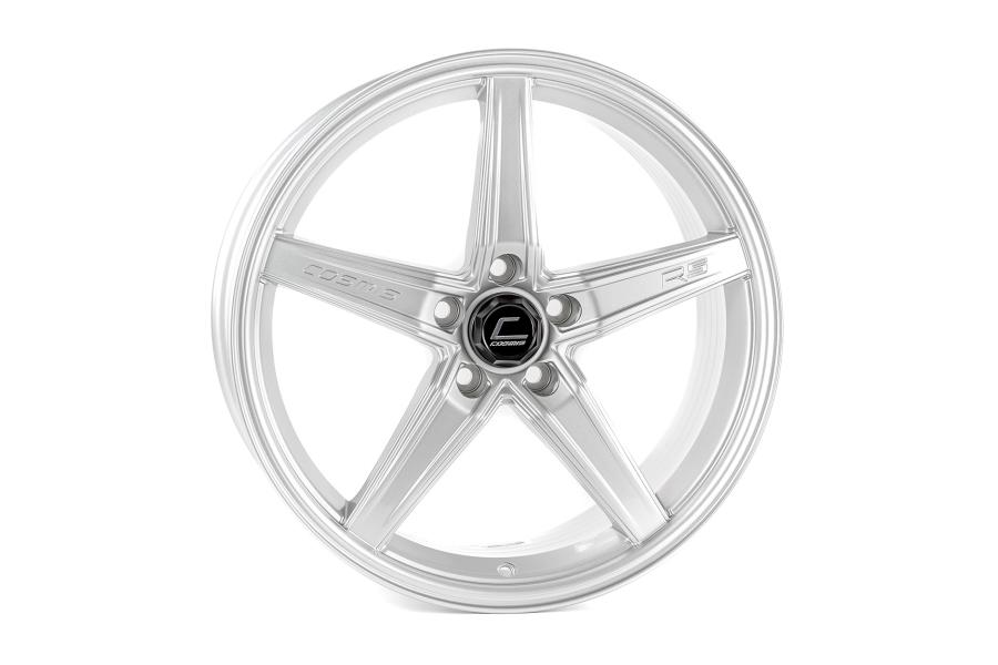 Cosmis Racing Wheels R5 18x8.5 +40 5x108 Silver - Universal