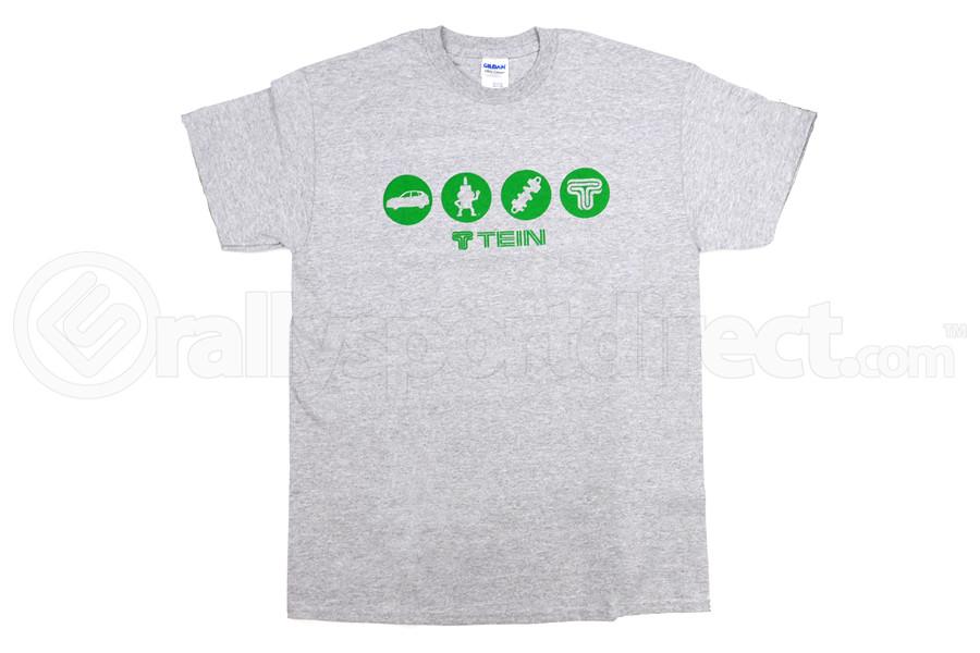 Tein Circle T-Shirt Grey (Part Number:TN004-012)