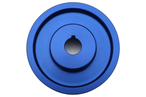 GrimmSpeed Lightweight Crank Pulley Blue ( Part Number:GRM 095015B)