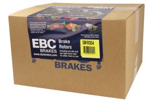 EBC Brakes S9 Rear Brake Kit Yellowstuff Pads and USR Rotors - Subaru STI 2005-2007