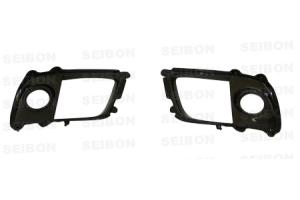 Seibon Carbon Fiber Fog Light Surrounds ( Part Number: FLS0809MITEVOX)