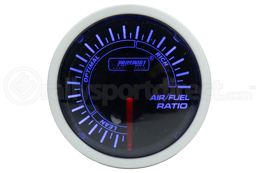 ProSport Air Fuel Ratio Gauge Electrical 52mm Blue/White (Part Number:216BFWBAFSM)