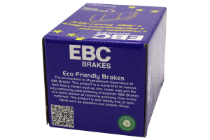 FAST STREET, TRACK, RACE EBC YELLOWSTUFF BRAKE PADS FRONT DP41884R